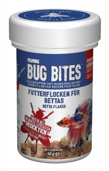 Fluval Bug Bites - Flocken-Futter - Futter für Bettas