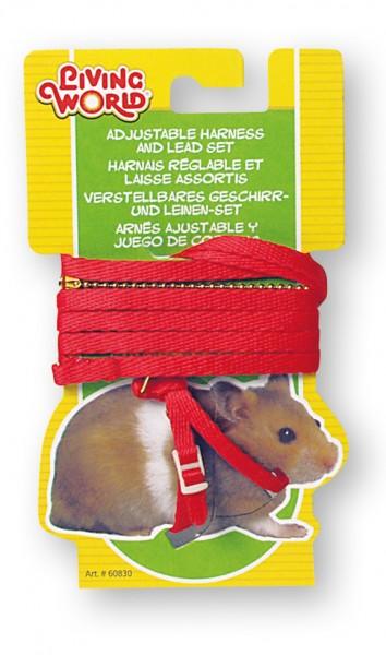 Living World Geschirr- und Leinenset, Hamster