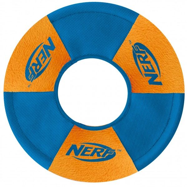 Nerf Dog Ultraplush Trackshot Toss & Tug Ring
