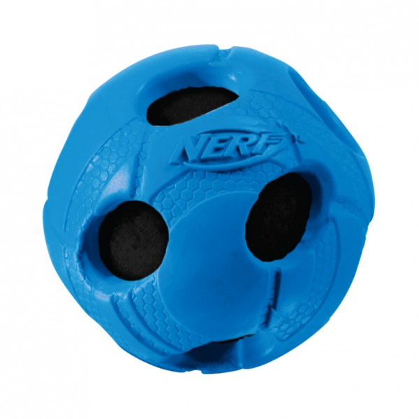 Nerf Dog Wrapped Squeak Bash Ball