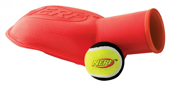 NERF Dog Ballkanone, 2er-Set