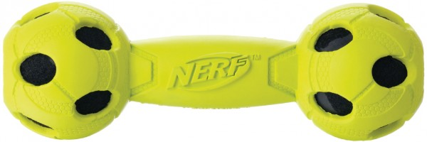 Nerf Dog Wrapped Squeak Bash Barbell