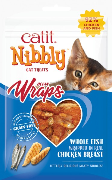 Catit Nibbly Wraps, 30 g