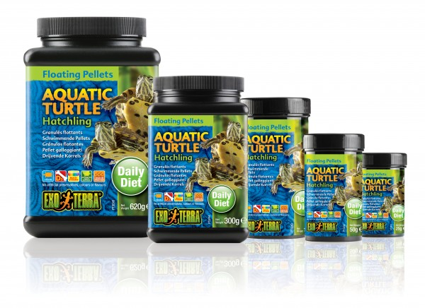 Exo Terra Floating Pellets - Hatchling Aquatic Turtle