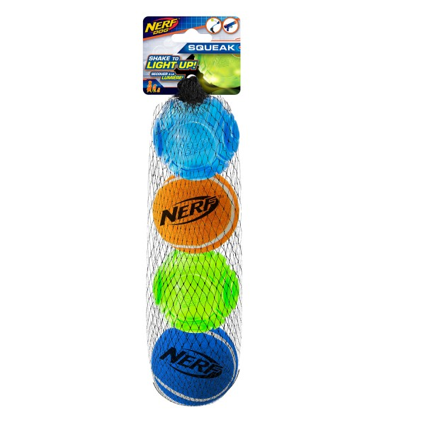 NERF Dog LED TPR Sonic & Tennis Ball