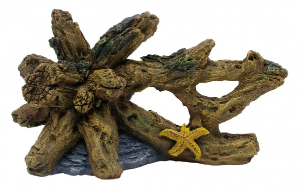 Marina Ornament Treibholz mit Seestern