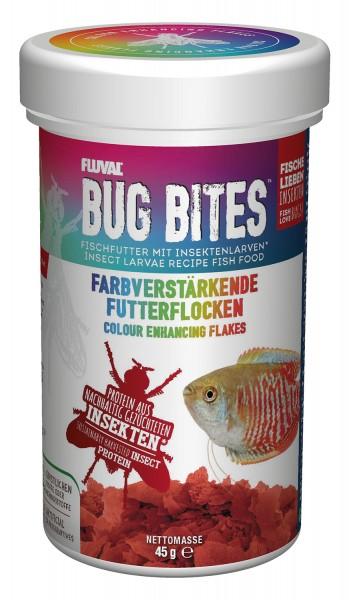 Fluval Bug Bites - Flocken-Futter - Farbverstärkend