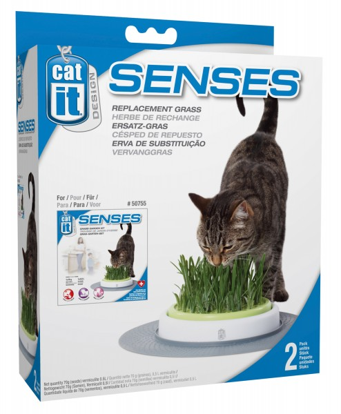 Catit Nachfüll-Gras für Grass-Garden-Kit (50755)