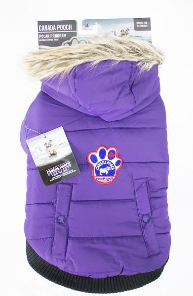 Canada Pooch North Pole Parka: Gr. 16, violett