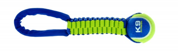 K9 Fitness by Zeus Tennis Ball Twist Tug