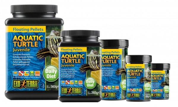 Exo Terra Floating Pellets - Juvenile Aquatic Turtle