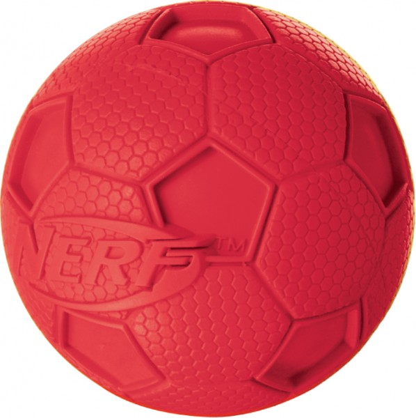 Nerf Dog Squeak Soccer Ball