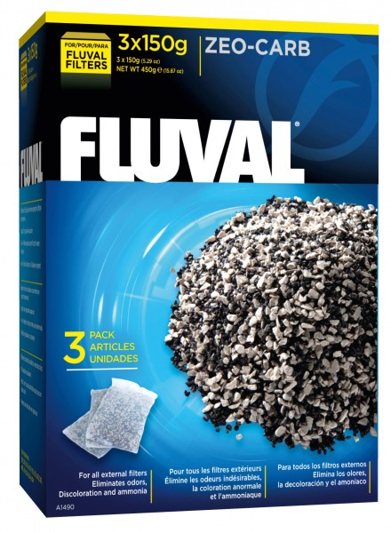 Fluval Zeo-Carb, 3x 150 g