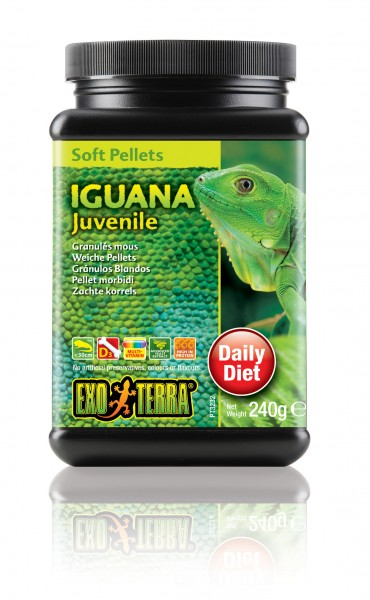 Exo Terra Soft Pellets - junge Leguane, 240 g