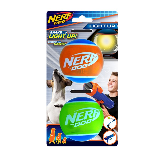 NERF Dog LED Spike Ball