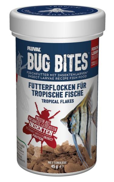 Fluval Bug Bites - Flocken-Futter - Tropische Fische