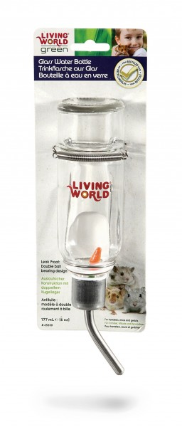 Living World Green Wasserflasche